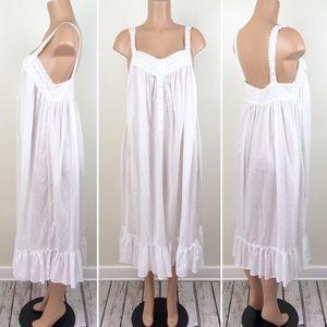 Vintage Victoria's Secret Cotton Nightgown Long